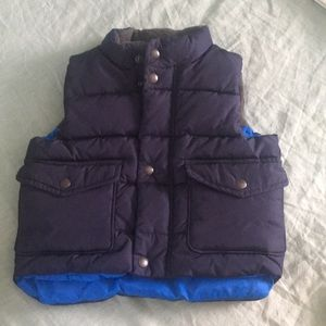 Baby Gap primaloft pocket vest